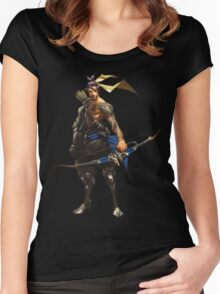Hanzo Women's Fitted Scoop T-Shirt