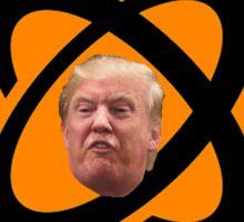 DANGER - Atomic Caution Trump Sticker Sticker