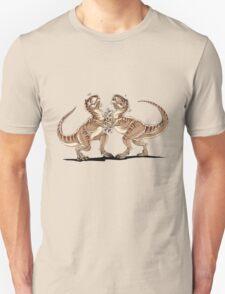 T-Rex Slap Fight  Unisex T-Shirt