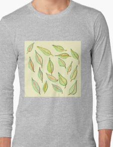 Leaves in the Wind Long Sleeve T-Shirt