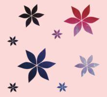 Multicolor Flower Print A-Line Dress One Piece - Short Sleeve