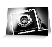 Camera Greeting Card