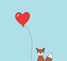 foxy fox balloon by annasamara