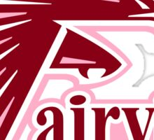 Fairview Middle School FALCON - Pink Out Breast Cancer Awareness Sticker