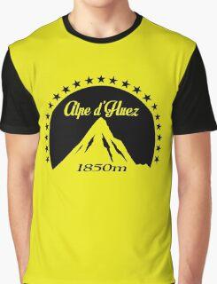 Alpe d'Huez (Black) Graphic T-Shirt