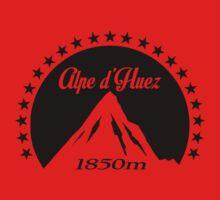 Alpe d'Huez (Black) Kids Tee