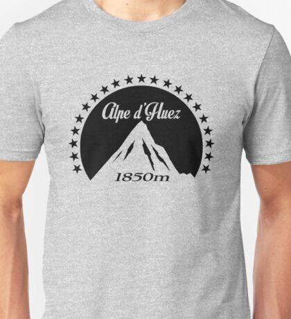 Alpe d'Huez (Black) Unisex T-Shirt