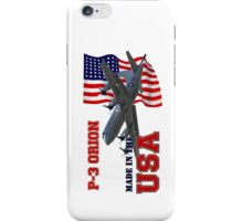 P-3 Orion Made in the USA iPhone Case/Skin