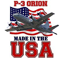 P-3 Orion Made in the USA Photographic Print