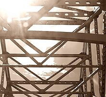 Sun through the Bridge by DRCP