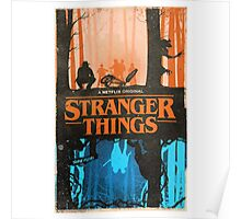 Stranger Things Merch Poster