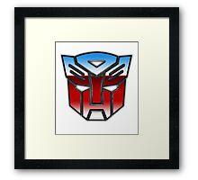 Go Autobots! Framed Print