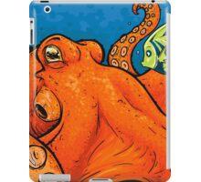 An Enormous Orange Octopus iPad Case/Skin