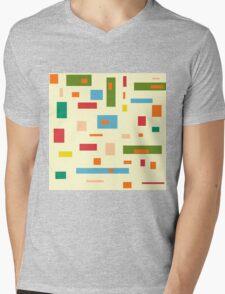 Shapely Shapes Mens V-Neck T-Shirt