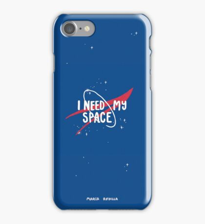 I need my space - Space love collection  iPhone Case/Skin