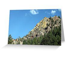 Eldorado Canyon Greeting Card