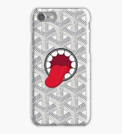 Goyard x Kaws White iPhone Case/Skin