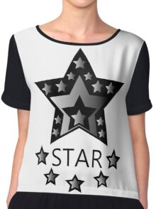 STAR Chiffon Top