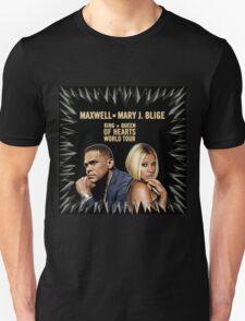 Maxwell & Mary J Tour 2016 Unisex T-Shirt