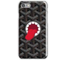 Goyard x Kaws Black iPhone Case/Skin