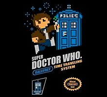 """Doctor Who """"SNES Who"""" by Dalek42"""