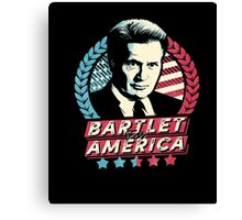 Bartlet for America T-Shirts Canvas Print