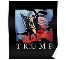Donald J. Trump Presidential Election Funny Political Shirt Poster