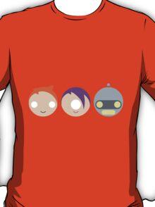 Planet Express Crew (Futurama) - Circley! T-Shirt