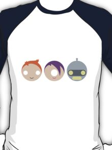 Planet Express Crew (Futurama) - Circley! T-Shirt