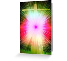 Glory Cross Greeting Card