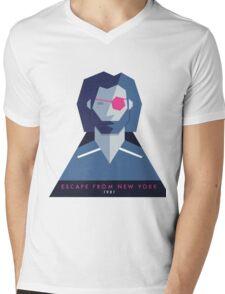 Escape from New York (1981) 80s Sticker Mens V-Neck T-Shirt