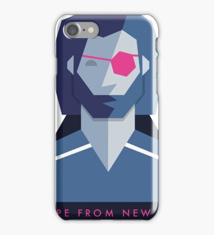 Escape from New York (1981) 80s Sticker iPhone Case/Skin