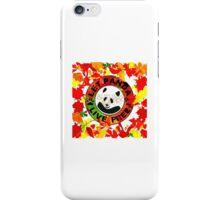 Let panda live free autumn iPhone Case/Skin