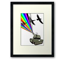 change fighters into birds Framed Print