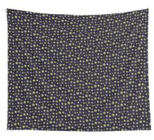 Night Sky Vector Pattern Design Wall Tapestry