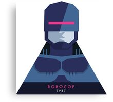 RoboCop (1987) 80s Sticker Canvas Print