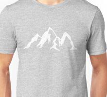 Doodle - Mountains Unisex T-Shirt