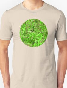 Marble Emerald Green Ruby Red Unisex T-Shirt