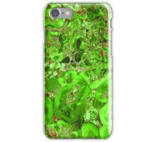 Marble Emerald Green Ruby Red iPhone Case/Skin