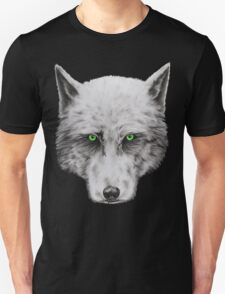 Green Eyed Wolf Unisex T-Shirt
