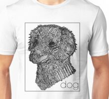 a sketch of a dog Unisex T-Shirt