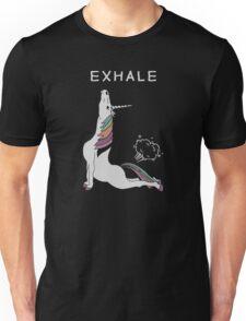 Unicorn - Exhale Unisex T-Shirt