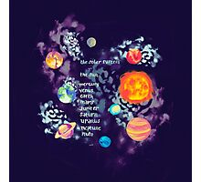 Cosmic colors Photographic Print