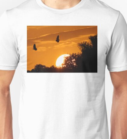 Everglades Sunset Unisex T-Shirt