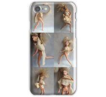 Barbie Dolls Print. Miniature Art ® iPhone Case/Skin