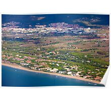 Castelldefels Beach, south of Barcelona, Catalonia, Spain Poster