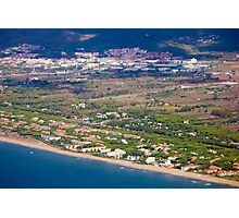 Castelldefels Beach, south of Barcelona, Catalonia, Spain Photographic Print