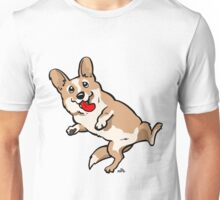 Cartoon Corgi dog shirt Unisex T-Shirt