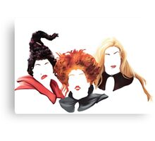 Just a Bunch of Hocus Pocus Canvas Print