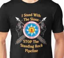 Standing Rock Crossed Arrows - Stop The Pipeline Unisex T-Shirt